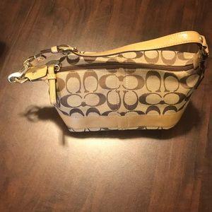 Coach signature purse small